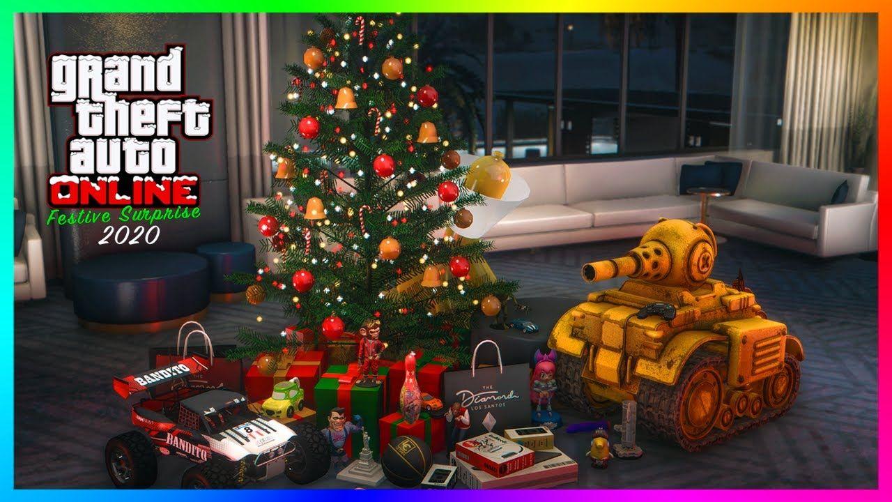 Gta 5 Online Christmas Dlc Festive Surprise 2020 Update How Rockstar Plans To Celebrate More In 2020 Gta 5 Online Gta 5 Festival