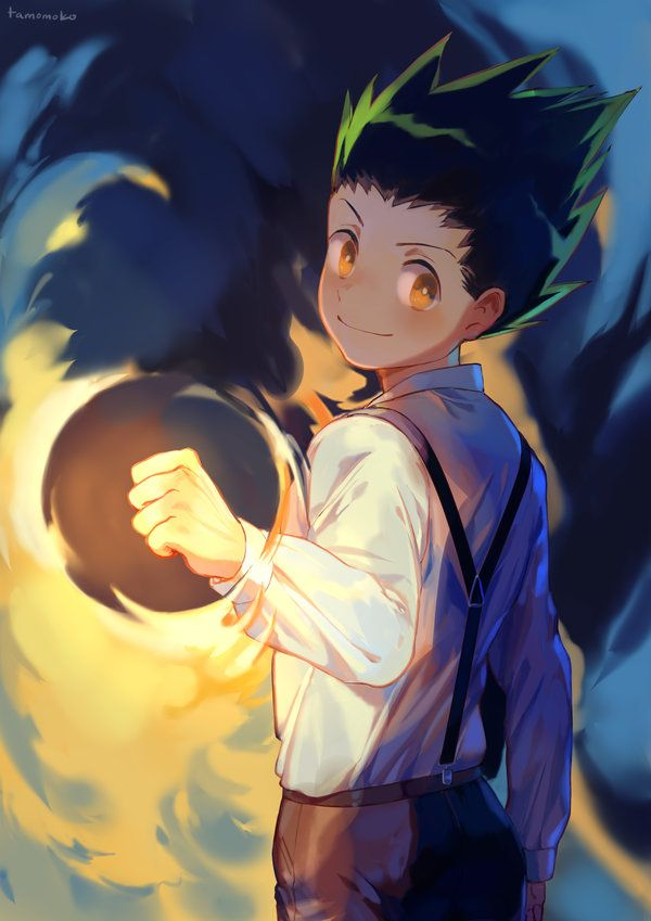 Gon By Tamomoko Wallpaper Hunter X Hunter 2011 Pinterest