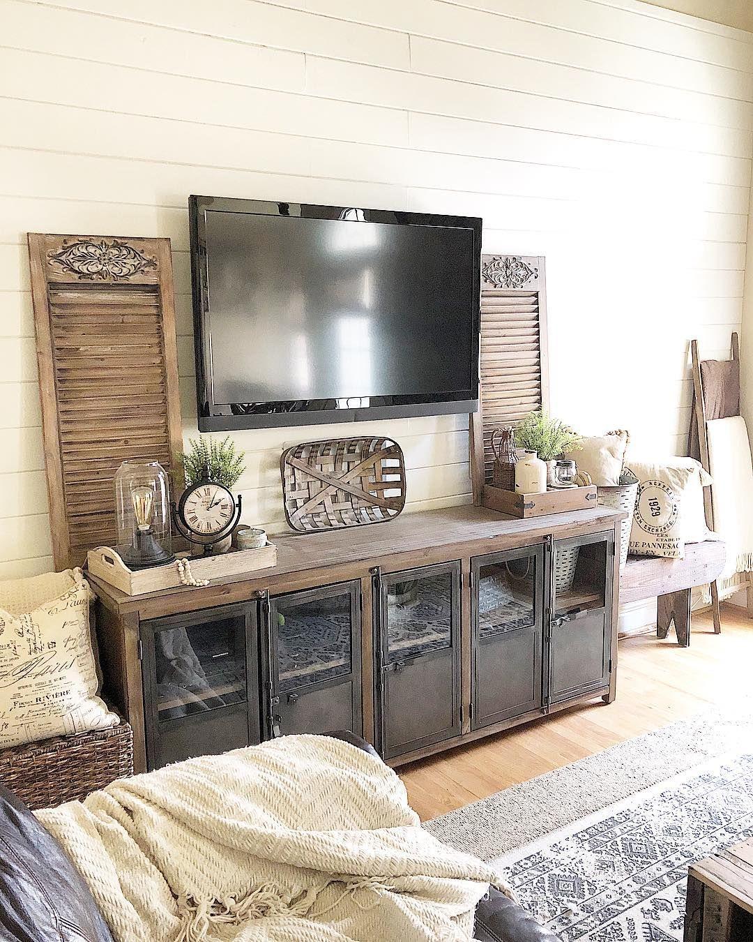 Living Room Tv Setups: Kirsten (@ourrustichaven) On