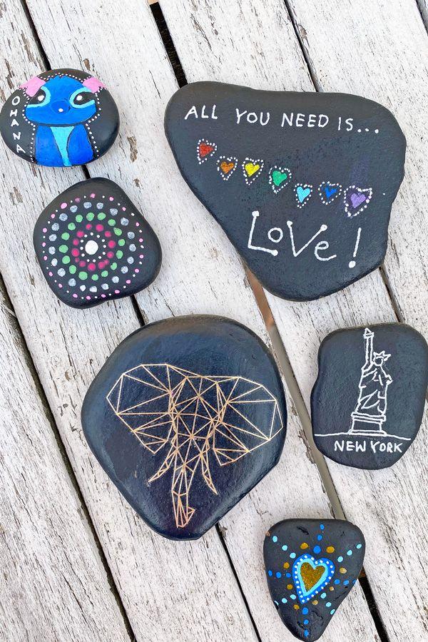 Alles, was ihr über das Bemalen von Steinen wissen müsst! ⋆ Moms Blog, der praktische Familienblog!