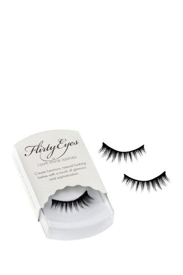Eye Candy: Glamorous Girly Lashes with A Flirty Finish by Mink Lashes on @HauteLook