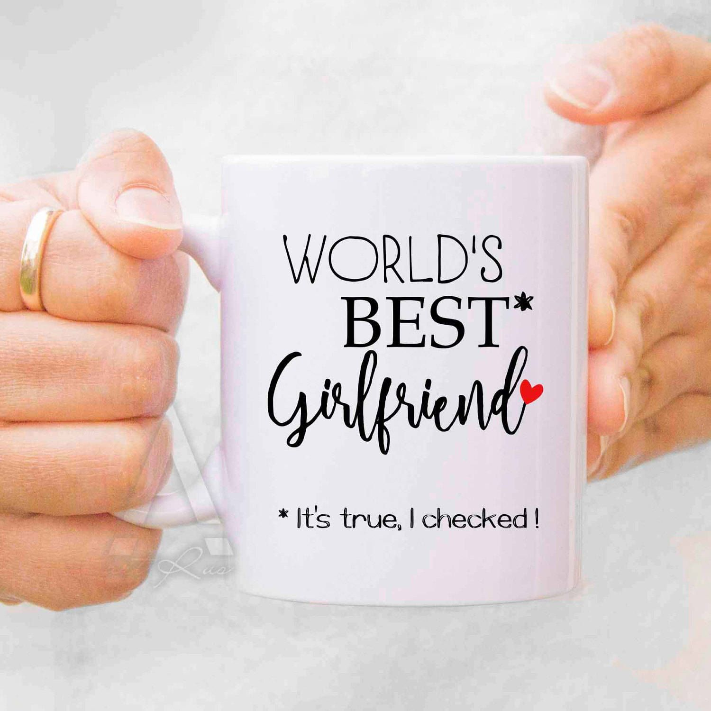 girlfriend gift, romantic gifts, cute coffee mug, best friend ...