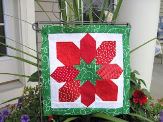 Quilts From My Crayon Box: My Think Christmas Bog Hop Stop & Giveaway