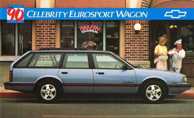 1990 Chevrolet Celebrity Eurosport Wagon