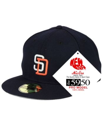 1326e5bd423 New Era San Diego Padres Retro Classic 59FIFTY Fitted Cap - Navy Navy 8