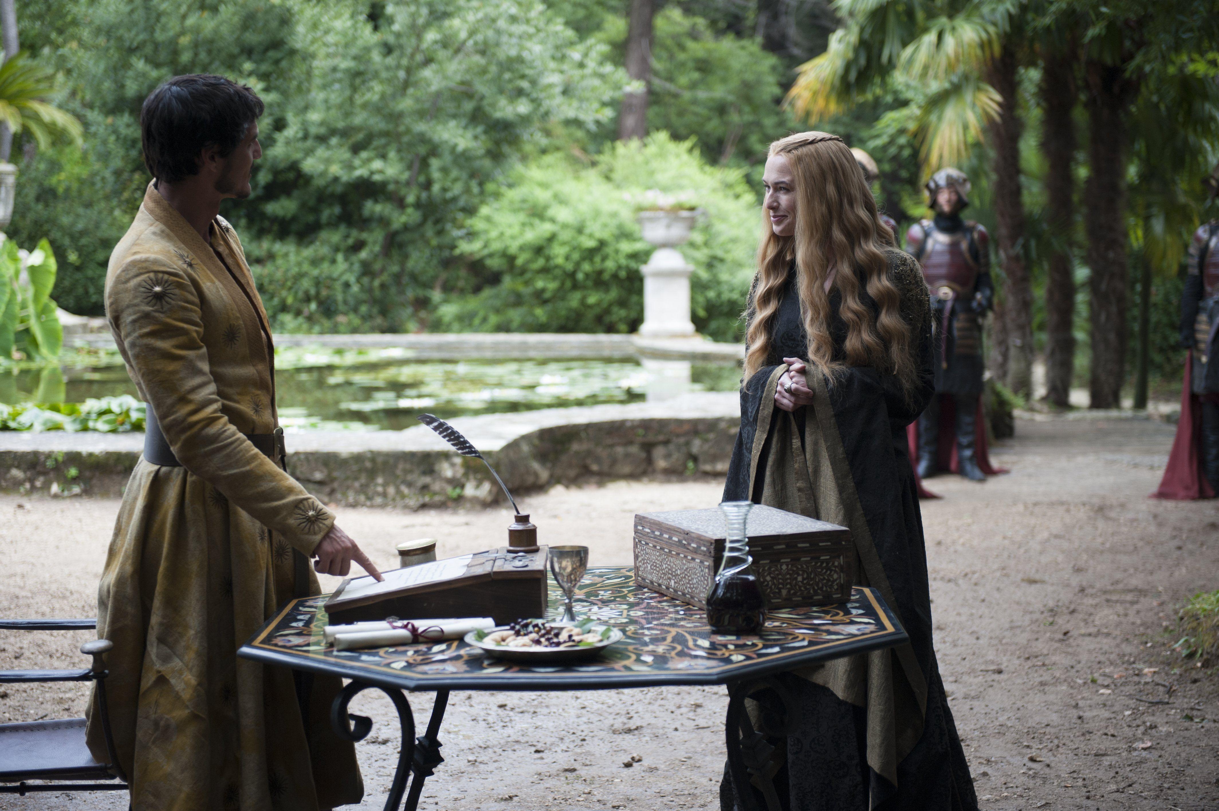 Game of Thrones Season 4 Episode 5 Still Cersei