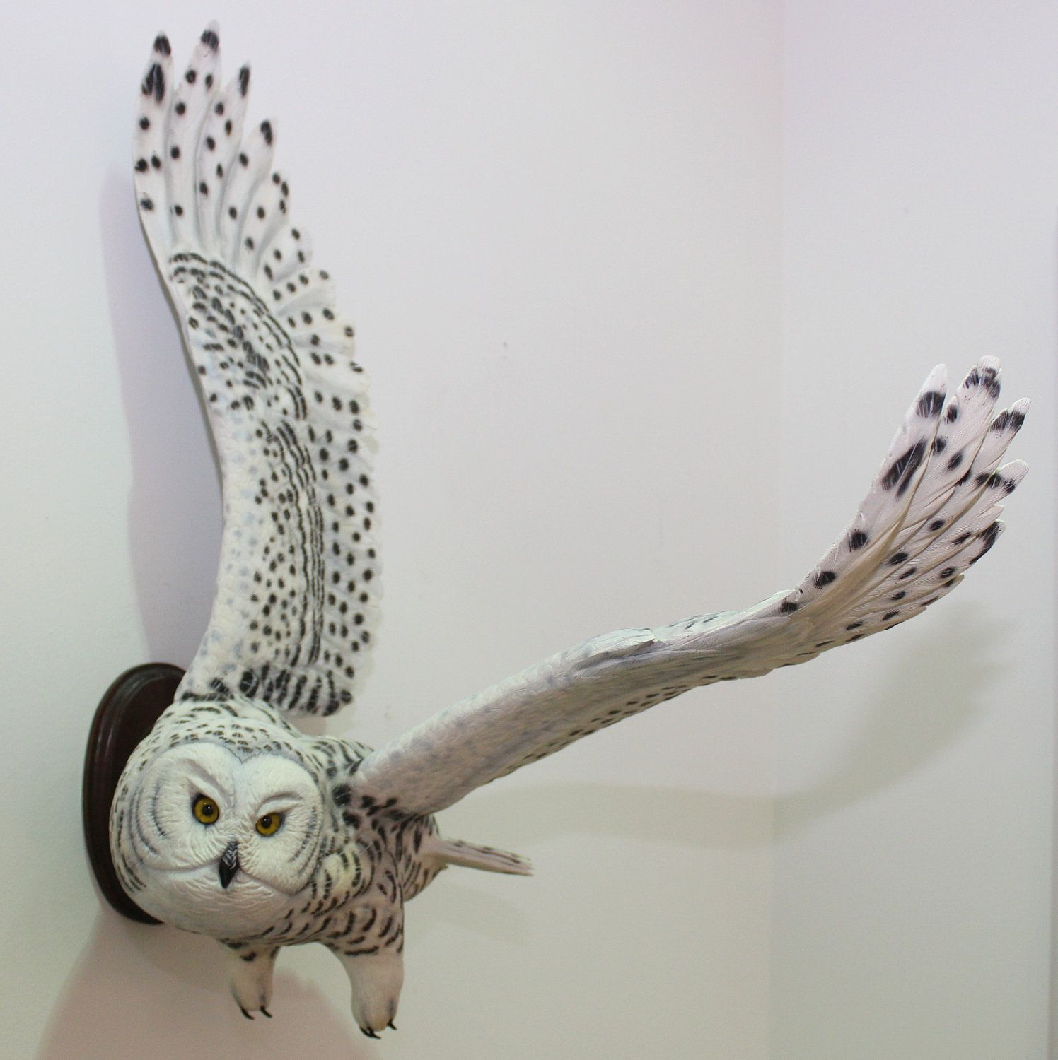 Incredible Wood Carved Snowy Owl Sculpture Pinterest