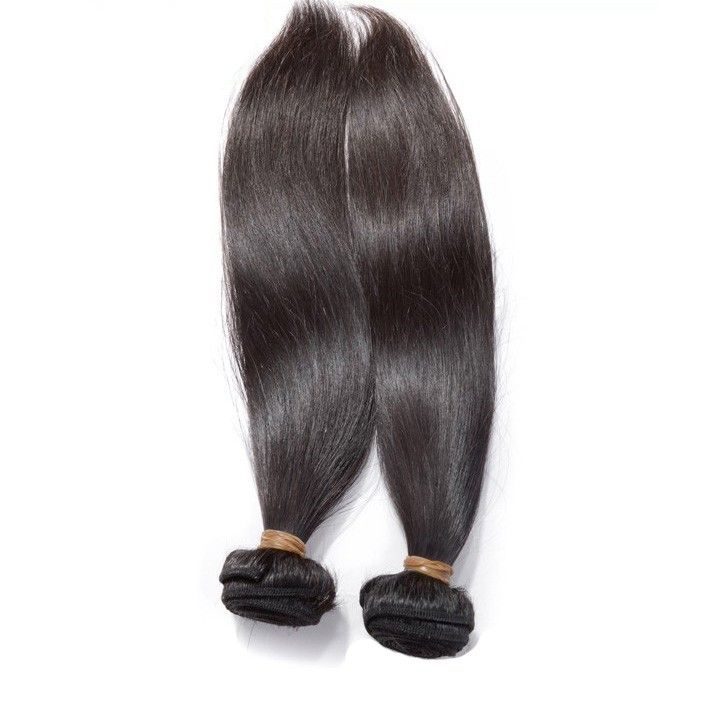 Brazilian Virgin Hair Silky Straight Natural Unprocessed Color 1b