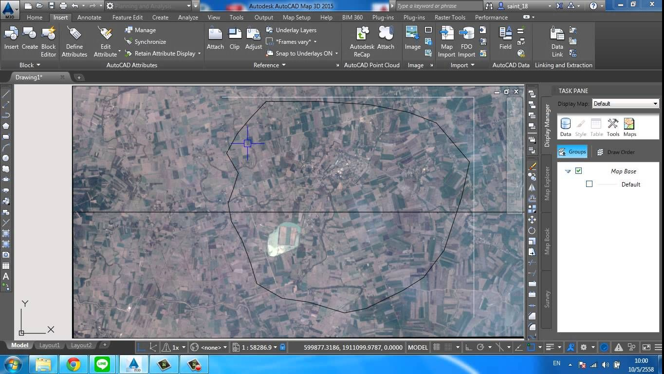 Autocad Map 3D   Modify imageRaster image Clipping Boundary   auto     Autocad Map 3D   Modify imageRaster image Clipping Boundary