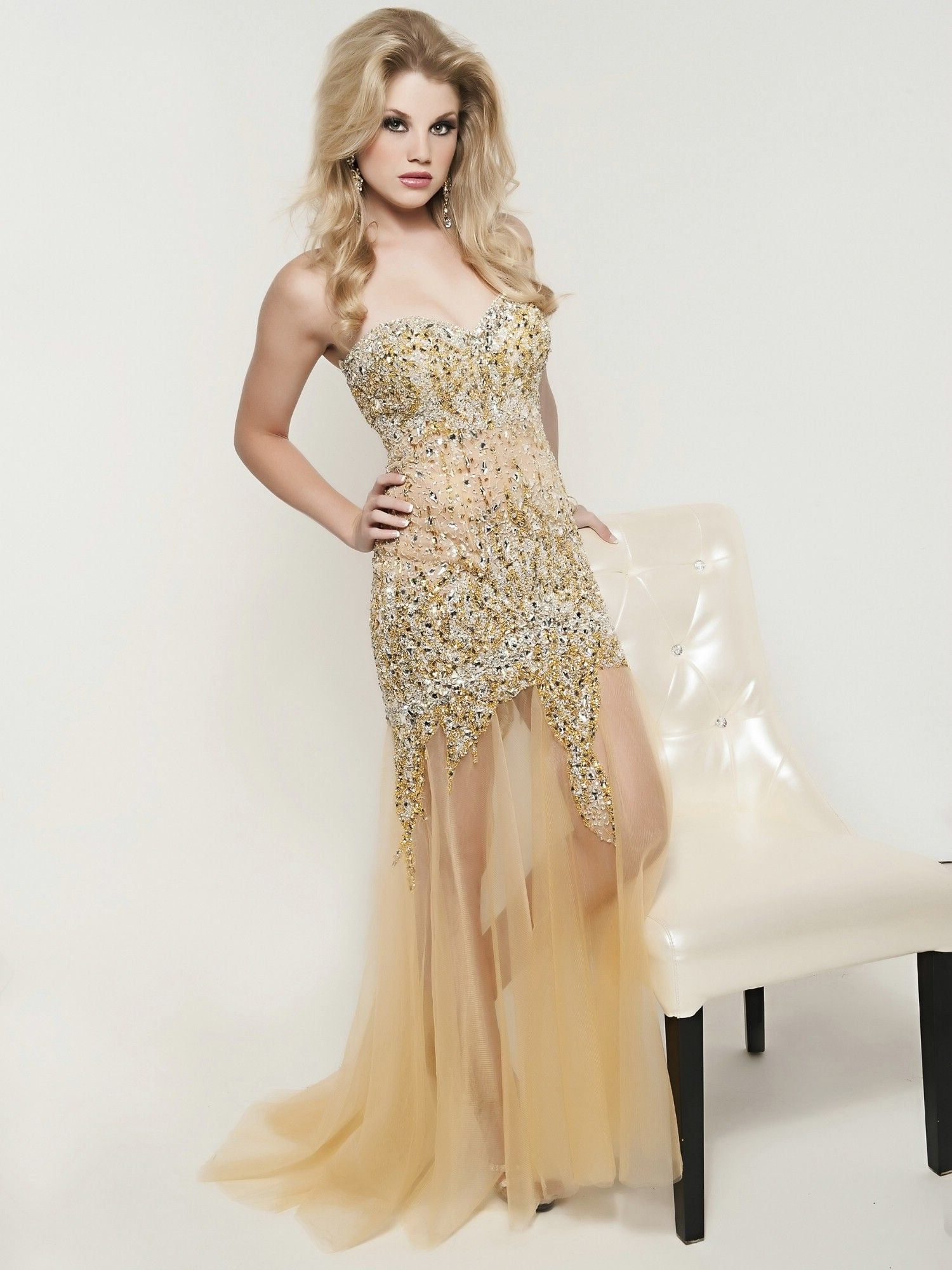 Jasz Couture 4810 #gold #prom #dresses | Prom & Homecoming! | Pinterest