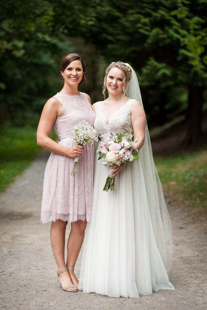 Blush bridesmaid | fabmood.com #blush #bridesmaid