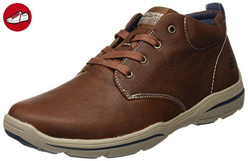 Skechers (SKEES) Herren Harper Schuhe, Braun (Lug), 46 EU 5j5Ft
