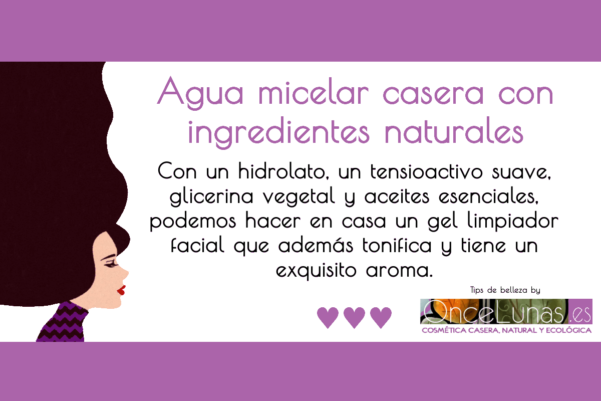 Agua Micelar Casera Diy Skin Care Natural Cosmetics Diy Skin