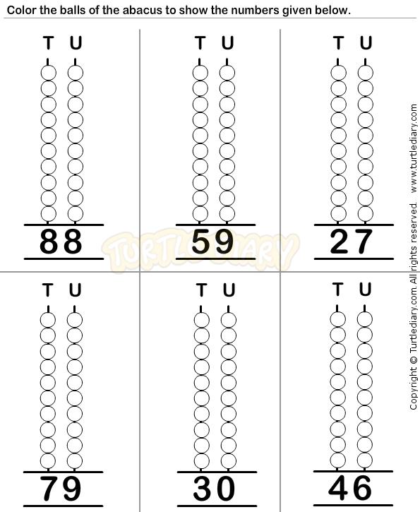 Abacus6 Math Worksheets Preschool Worksheets Educational