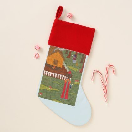 Vasilisa the Beautiful Christmas Stocking Pinterest Festival