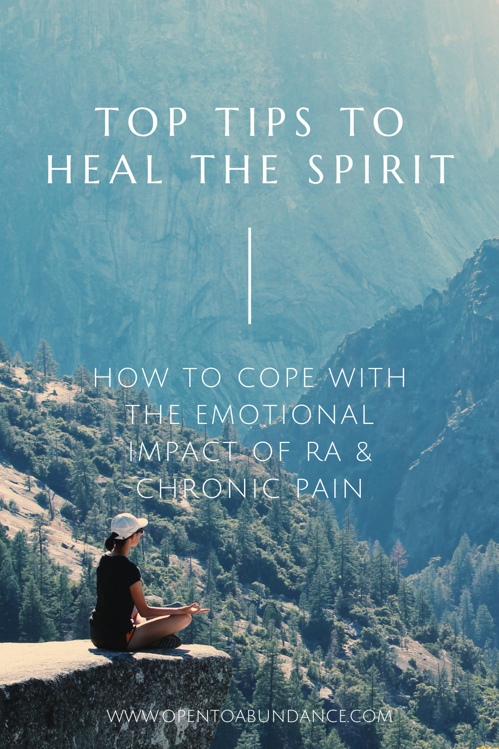 5. Learn self-care habits to heal the emotional pain of chronic illness and pain. 8 simple habits to soothe the body, mind and spirit. #opentoabundance #rheumatoidarthritis #chronicpainandanxiety #emotionsandchronicdisease #reduceanxiety