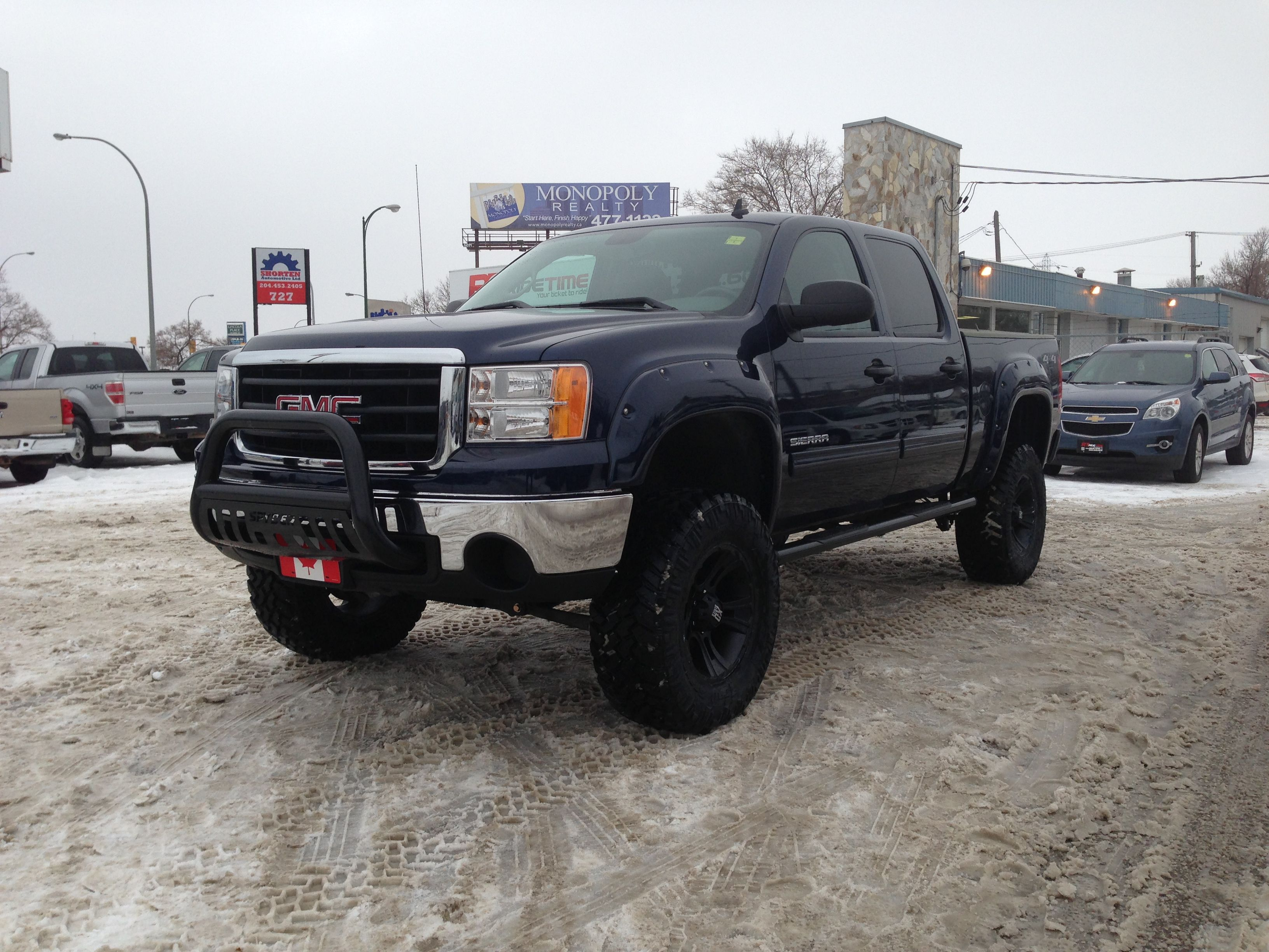 2011 gmc sierra 1500 6 lift 37 tires 20x12 rims built by