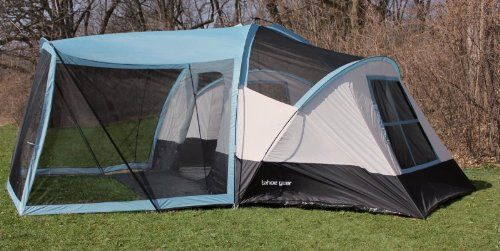 Amazon.com Tahoe Gear Zion 8 Person Family Tent with Screen Porch Sports & Amazon.com: Tahoe Gear Zion 8 Person Family Tent with Screen Porch ...