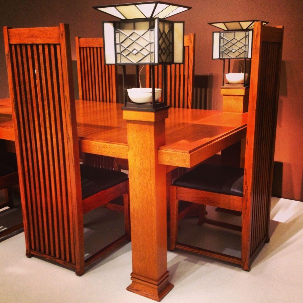 Pretty Stuff Frank Lloyd Wright Furniture Craftsman Style Furniture Frank Lloyd Wright Design