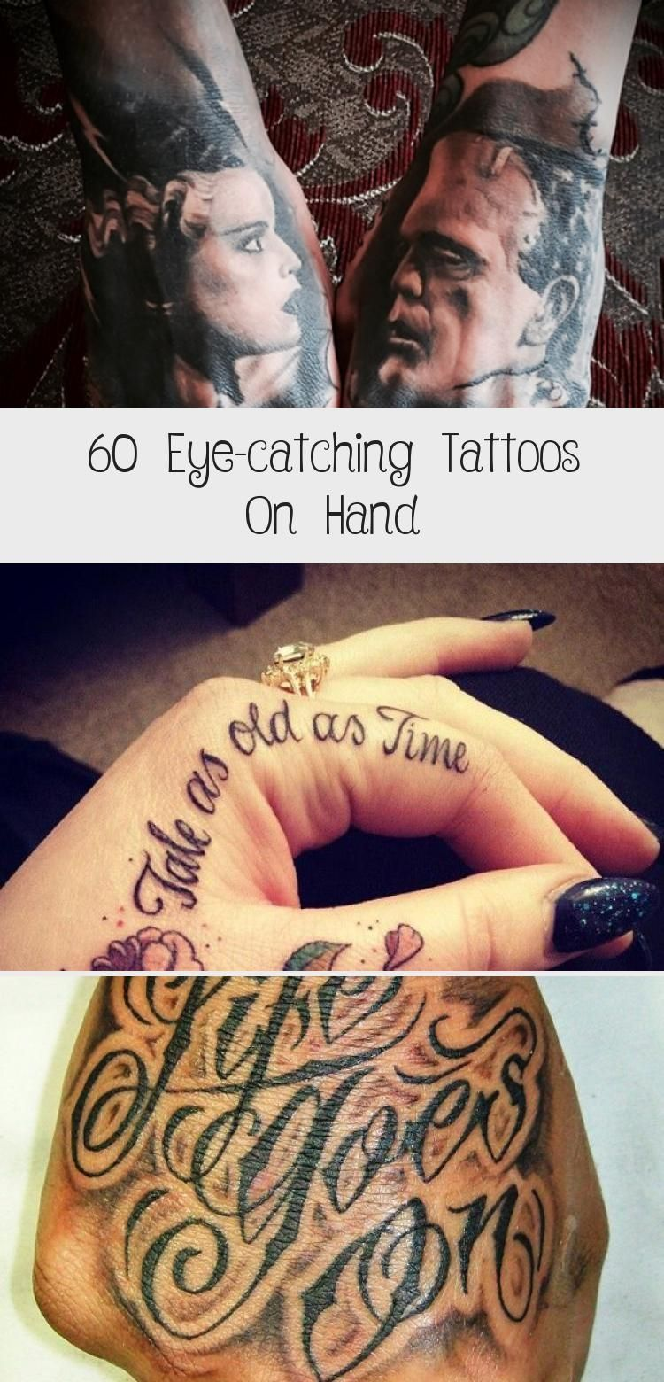 60 eye-catching tattoos on hand - abstract hand tattoo - 60 eye-catchi ...  - Body Art Henna-#Abstra