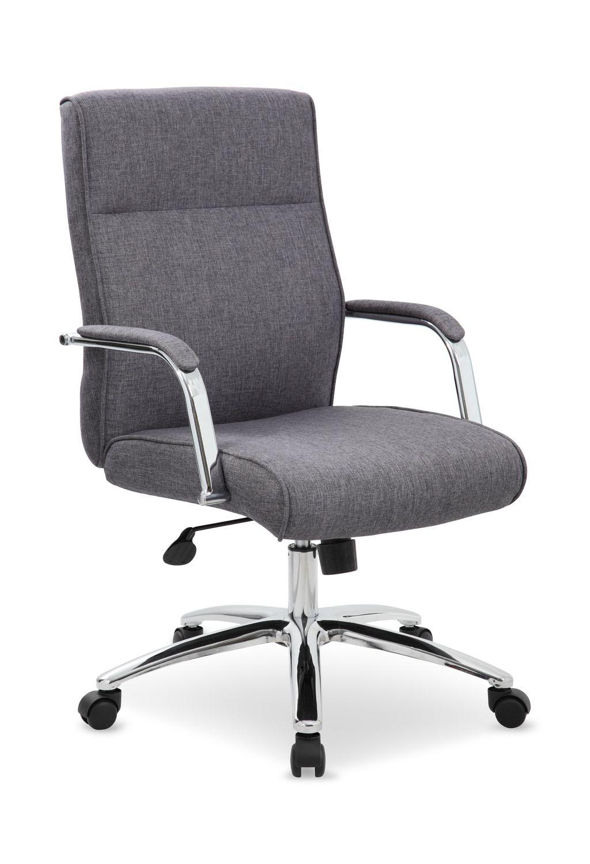 devrik home office desk chair 1. Executive Grey Office Chair Devrik Home Desk 1