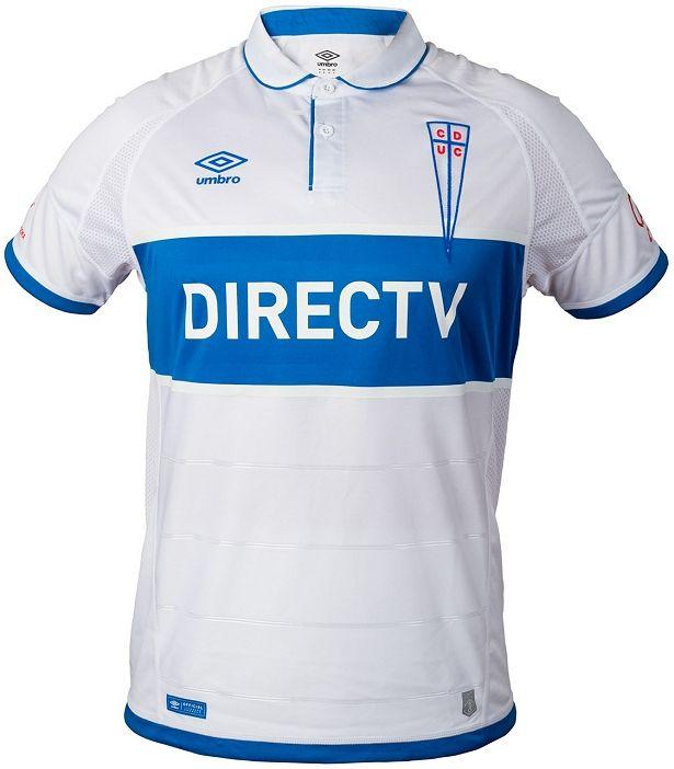 Umbro lança novas camisas do Universidad Católica - Show de Camisas ... fee42273fa7c0