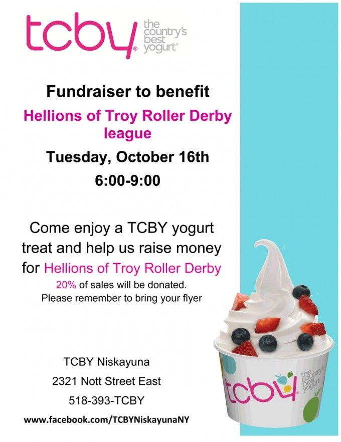 Team up with a restaurant | Roller Derby Fundraising Ideas ...