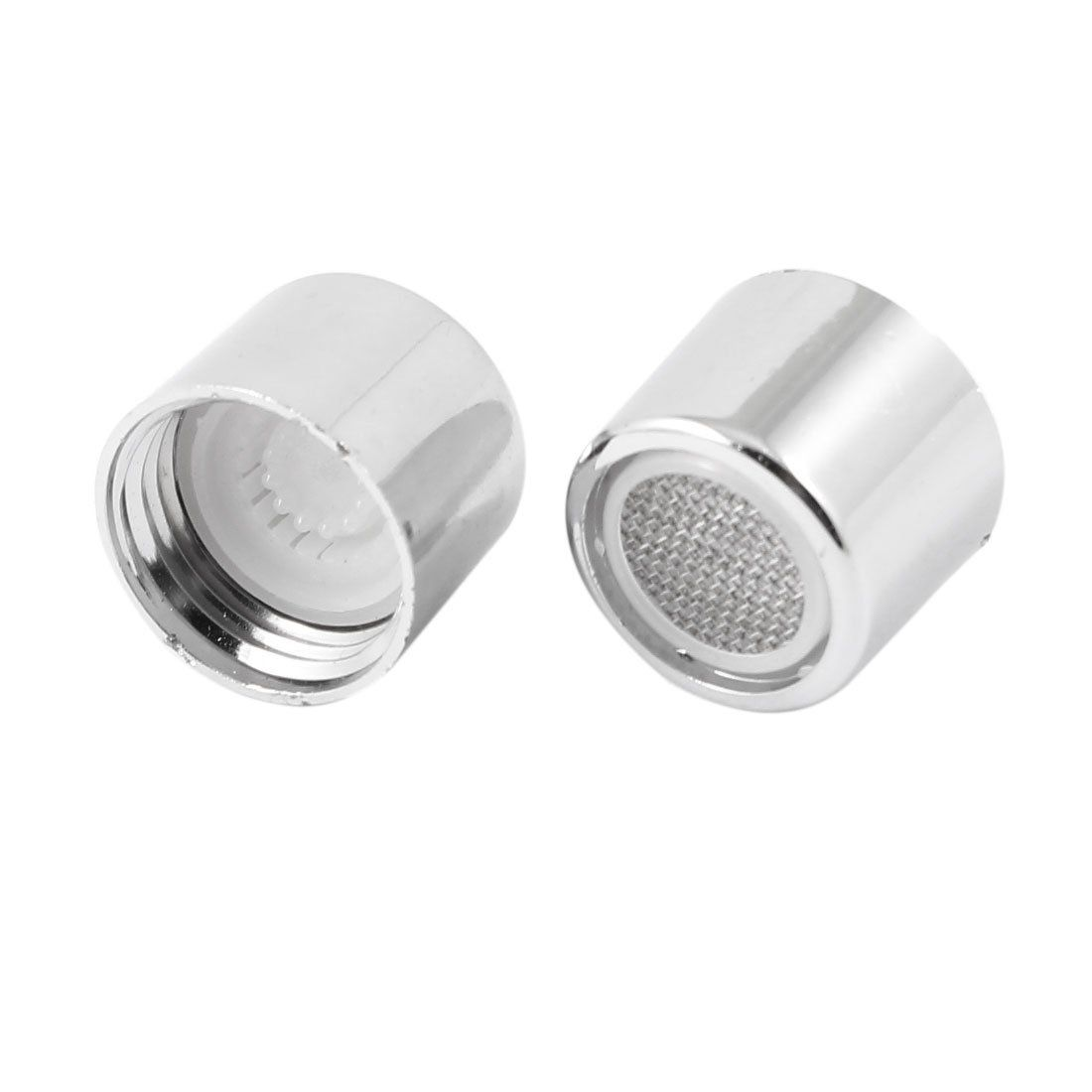2pcs Plastic Water Saving Faucet Tap Spout Aerator Filter Net