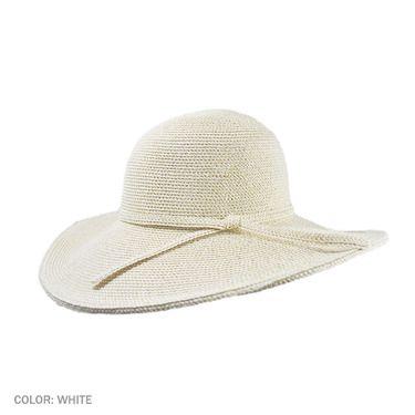 aa8f5464d39f5 Jeanne Simmons Tweed Floppy Hat