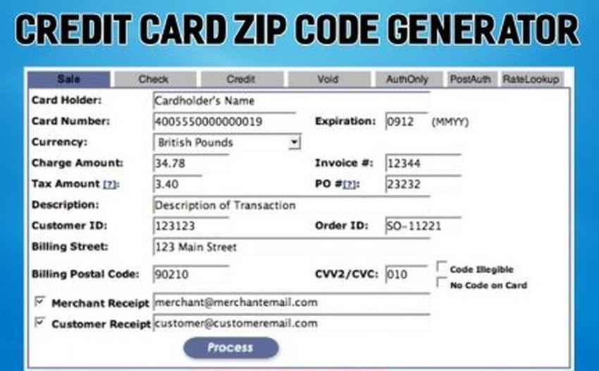 11 Quick Tips Regarding Visa Card Generator With Postal Code