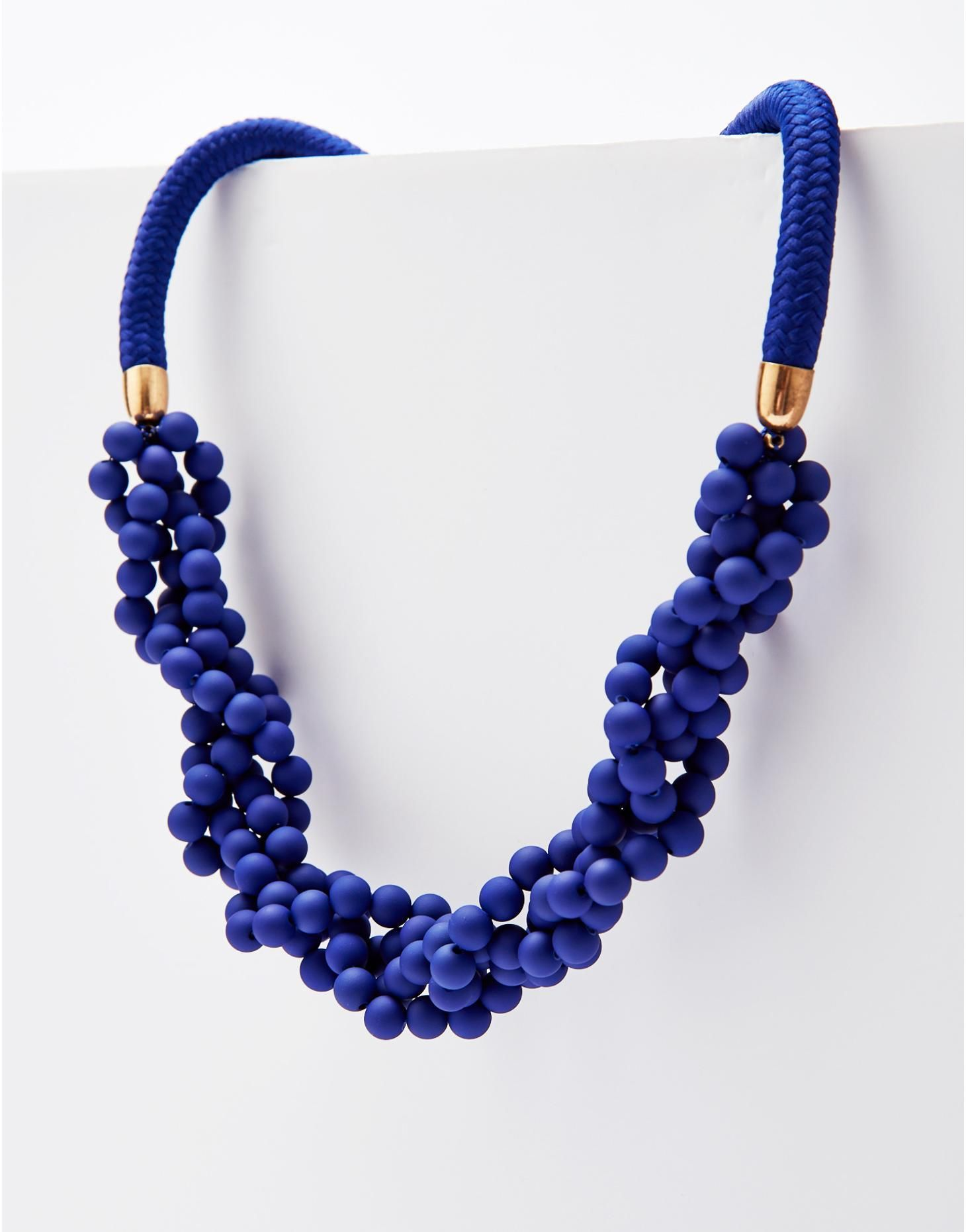 necklace lapis chip beaded pin strand lazuli necklaces blue cobalt dark bead single for jewelry stone gemstone women