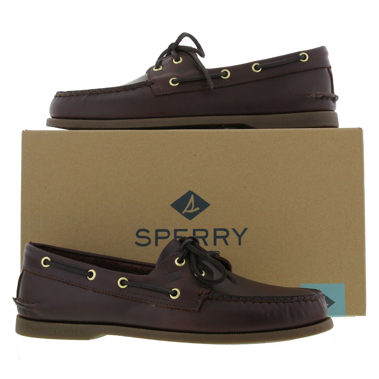 Sperry Mens Top Sider Boat Shoe 0195214 - Amaretto ...