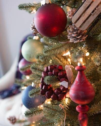 Farmhouse Christmas Ornament Set Balsam Hill Farmhouse Christmas Ornaments Christmas Ornaments Christmas Ornament Sets
