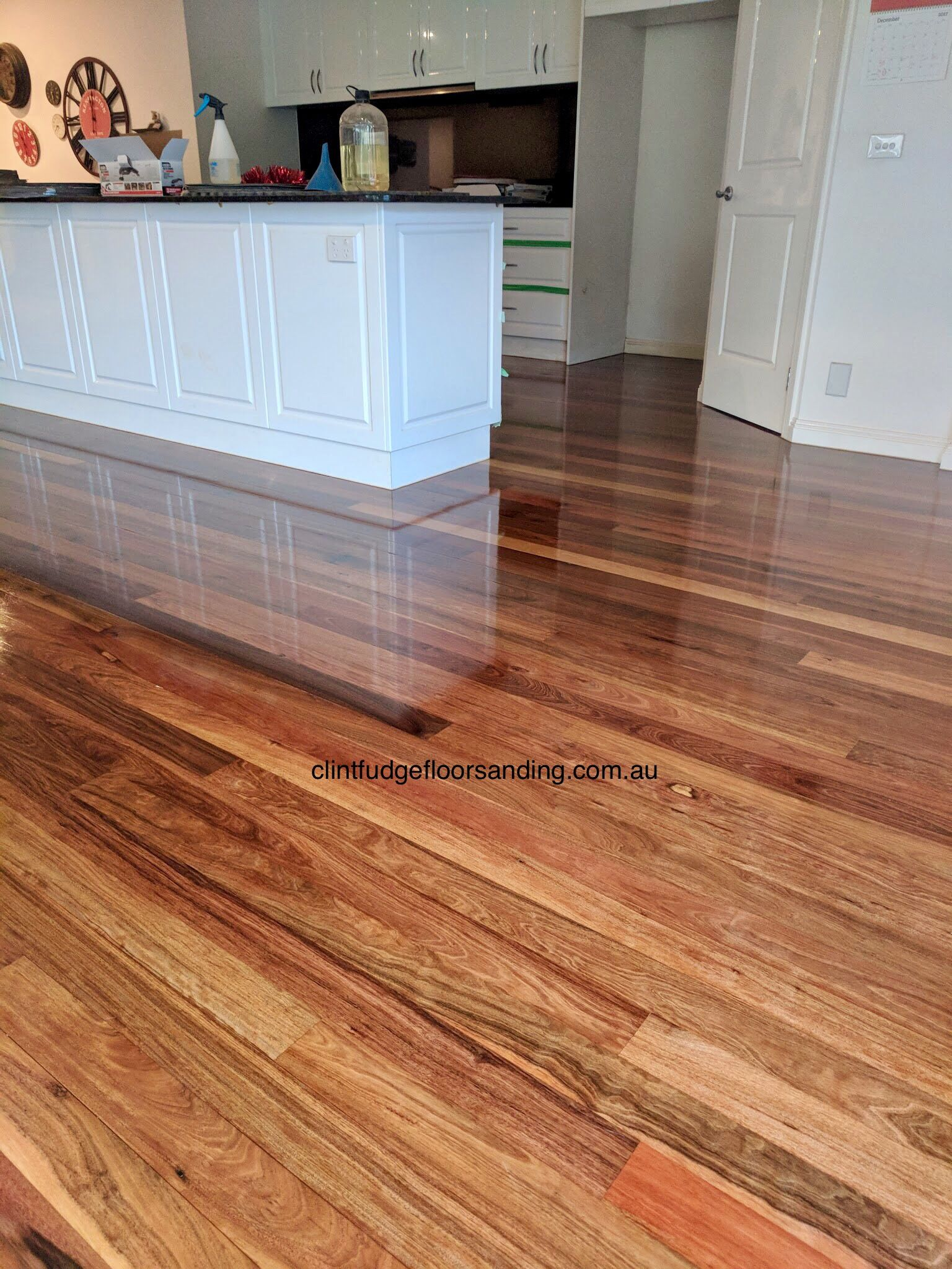 Ironbark Floor Finished In A High Gloss 2pac Polyurethane Flooring High Gloss Floors Floor Finishes