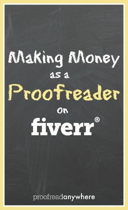 How to Find Proofreading Work on Fiverr Proofreader, Business - fiverr resume