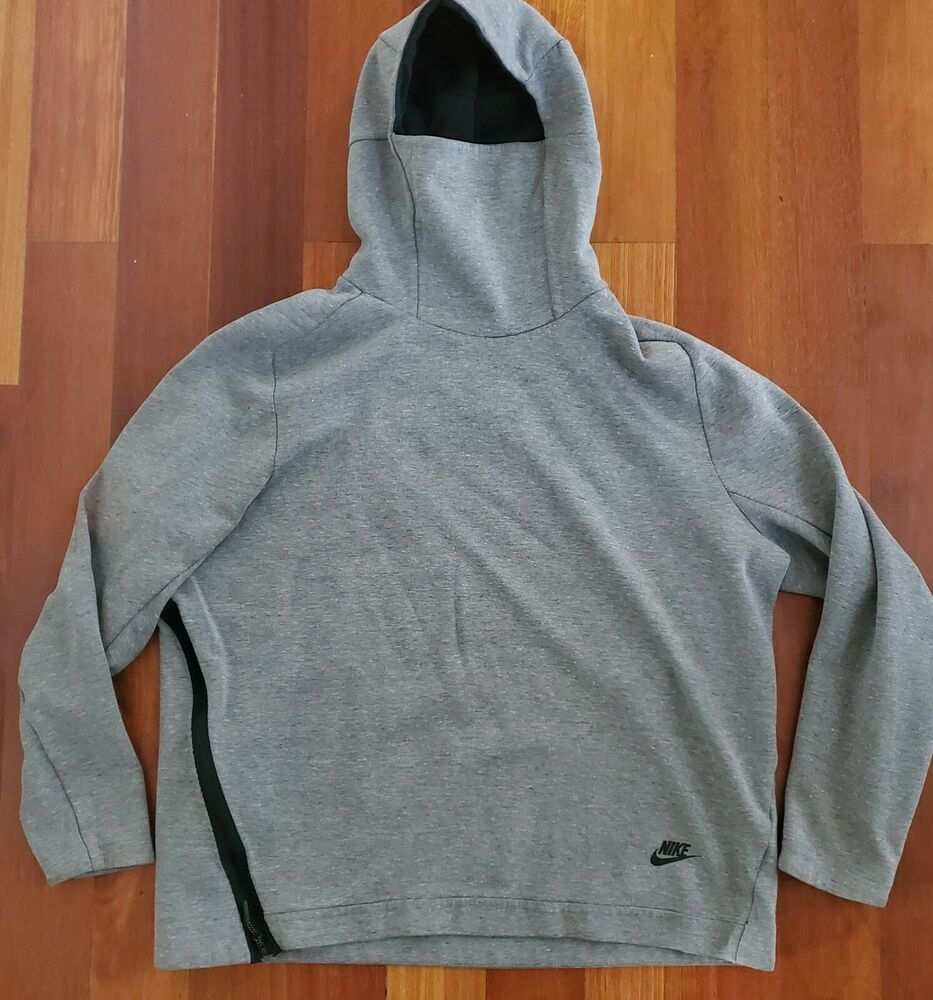Gray Size Xl Nike Cowl Neck Hooded Sweatshirt Mens Womans Zipper Ebay In 2021 Hooded Sweatshirt Men Hooded Sweatshirts Sweatshirts [ 1000 x 933 Pixel ]