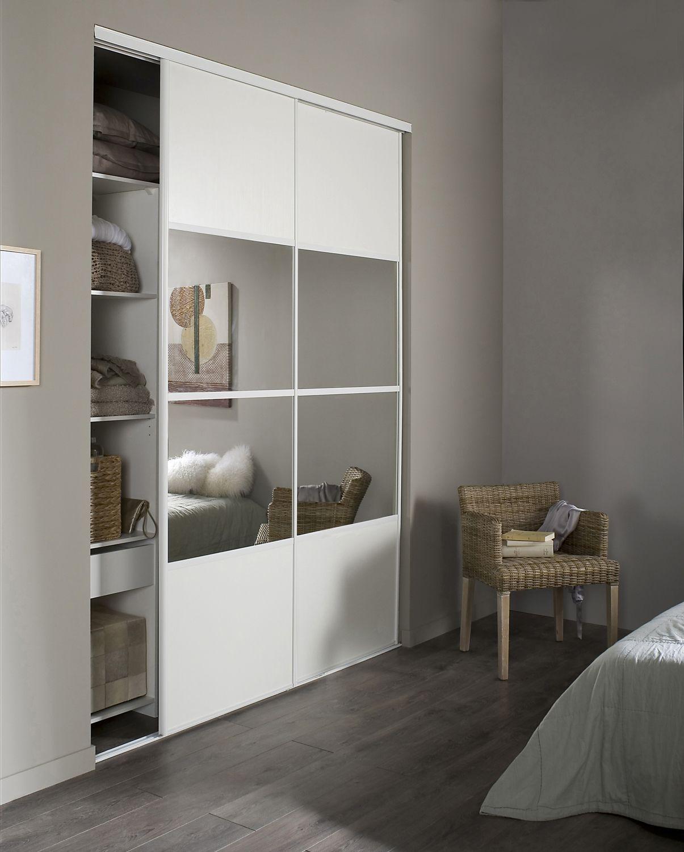 armoire porte coulissantes deco interieur pinterest. Black Bedroom Furniture Sets. Home Design Ideas