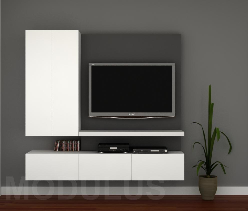Mueble De Tv Wall Unit Shelf Televition Pinterest Tvs Tv  # Meuble Tv Retractable