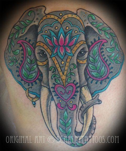 elephant tattoo - Goog...