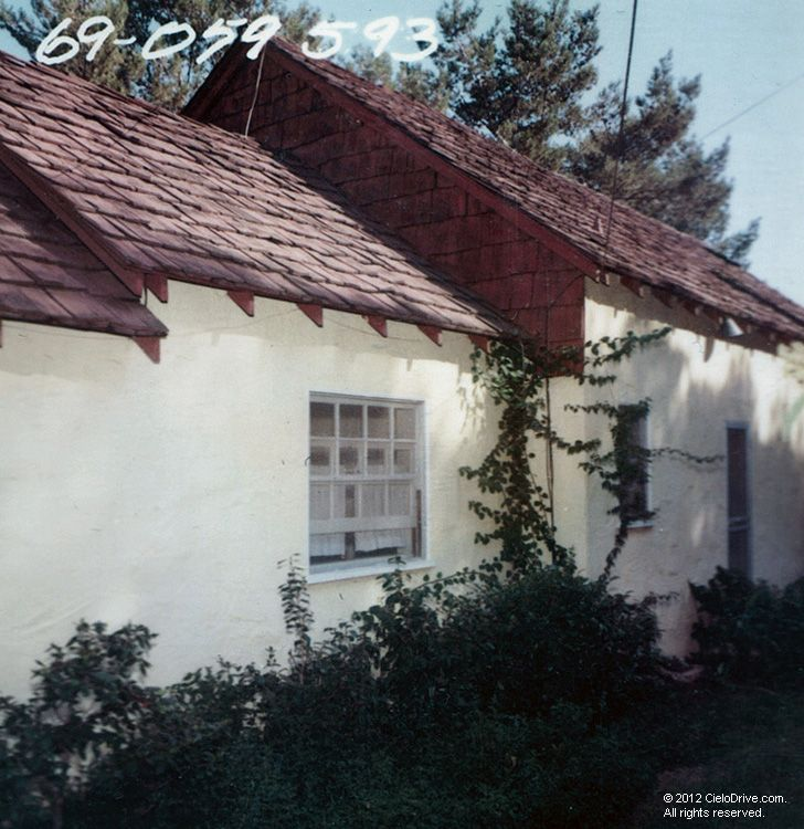 10050 Cielo Drive Main House Charles Manson Family And Sharon Tate