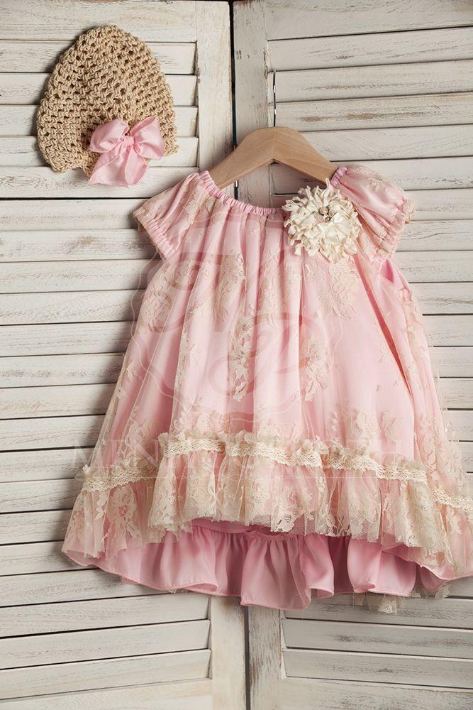 0c87ff8e70d Βαπτιστικά ρούχα για κορίτσι της ΝEONATO | Baptism clothes | Flower ...
