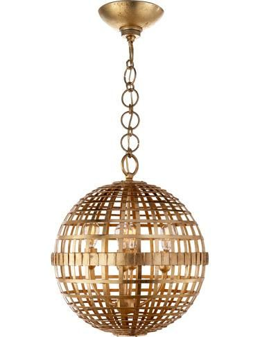 From The Aerin Collection For Visual Comfort The Mill Ceiling Light Is A Beautifully Crafted
