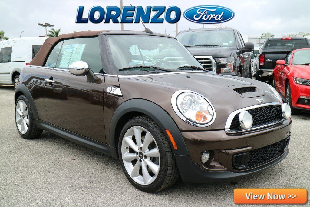 Used 2011 MINI Cooper S Convertible Convertible for sale near you in HOMESTEAD, FL. Get more information and car pricing for this vehicle on Autotrader.