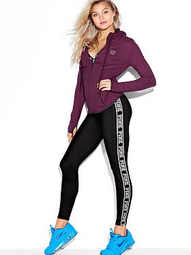 7628b50abb9041 Victoria's Secret: Ultimate Reversible Yoga Leggings   -vs pink ...