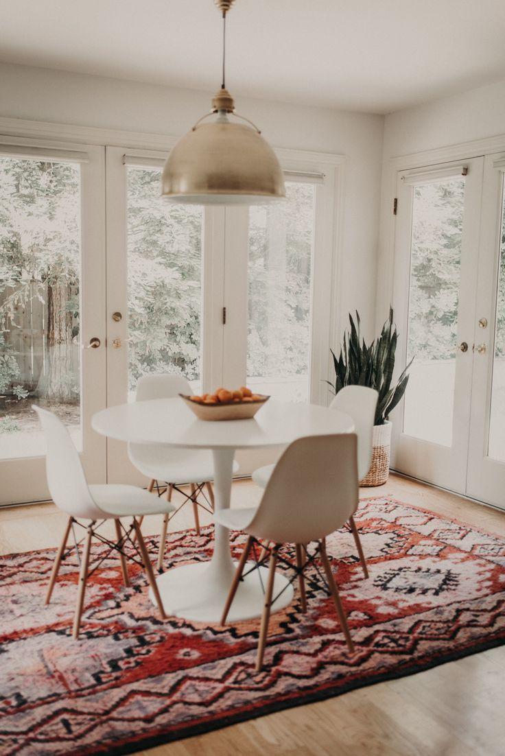 Modern bohemian home decor  Tour a Space that Blends Bohemian Details with a Modern Farmhouse