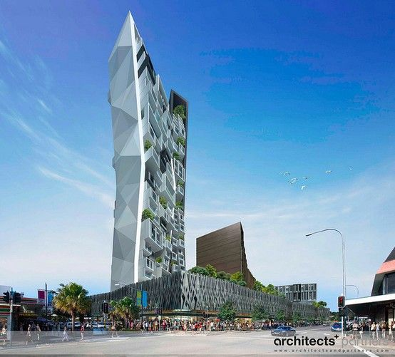 Proposal 240 Queen Street Campbelltown Nsw By Architectsandpartners Residential Building Urban Planning Building