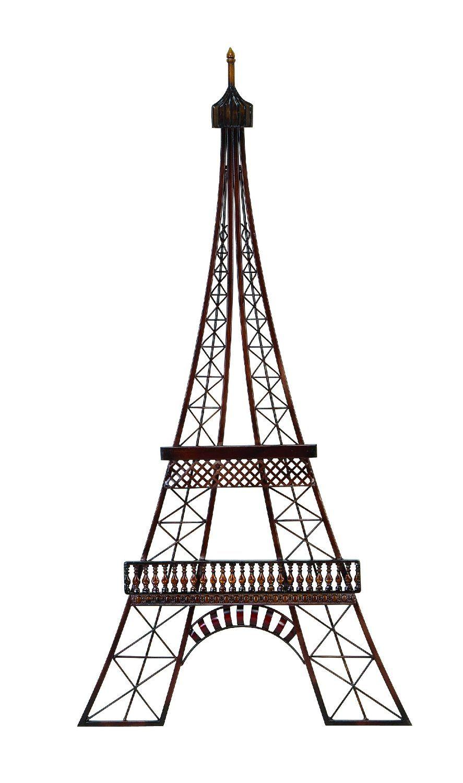 Amazon.com - Eiffel Tower Wall Art Hanging Decoration Paris England - Wall Sculptures