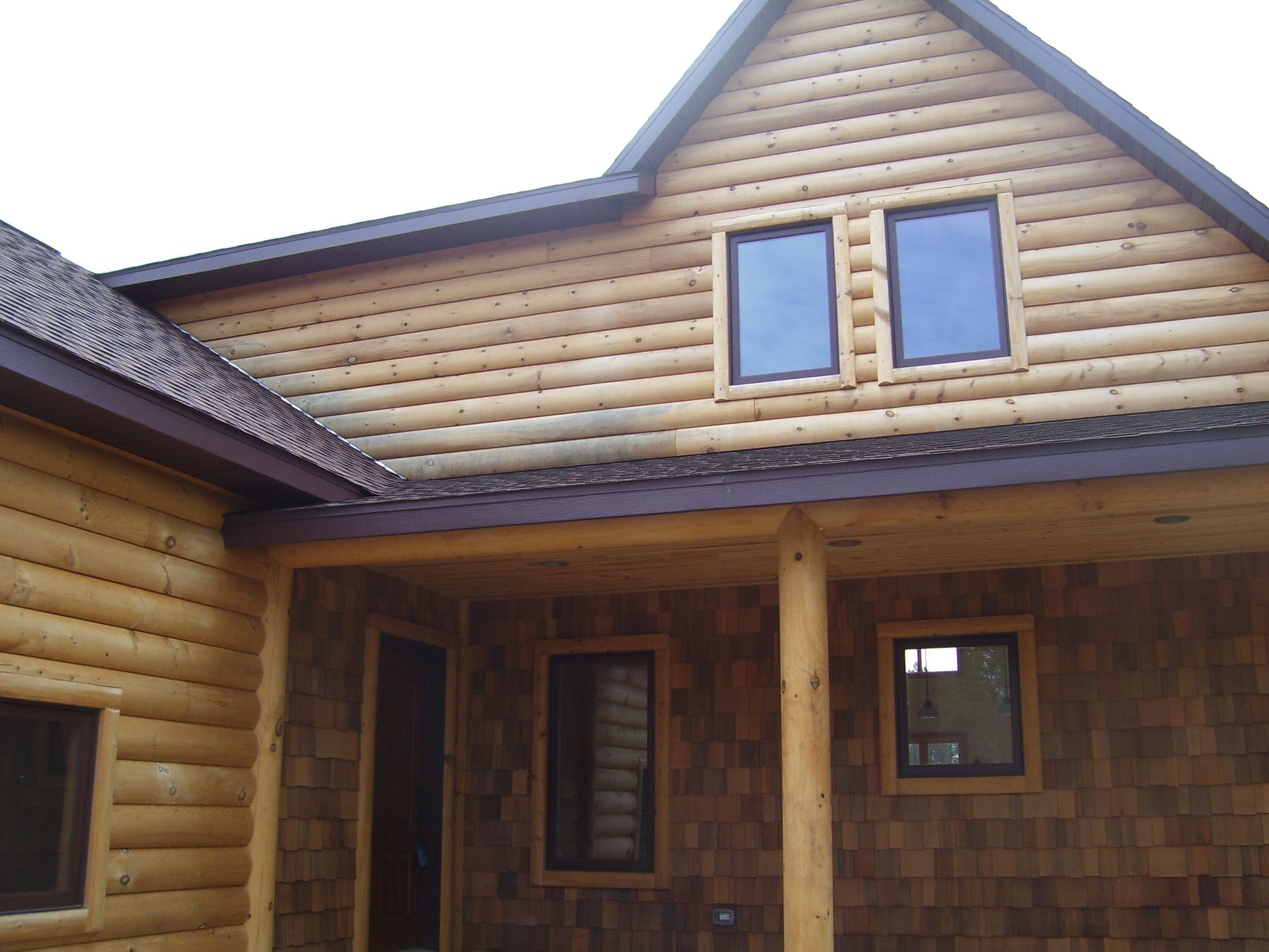 Meadow Valley Log Siding Log Siding House Styles Log Homes