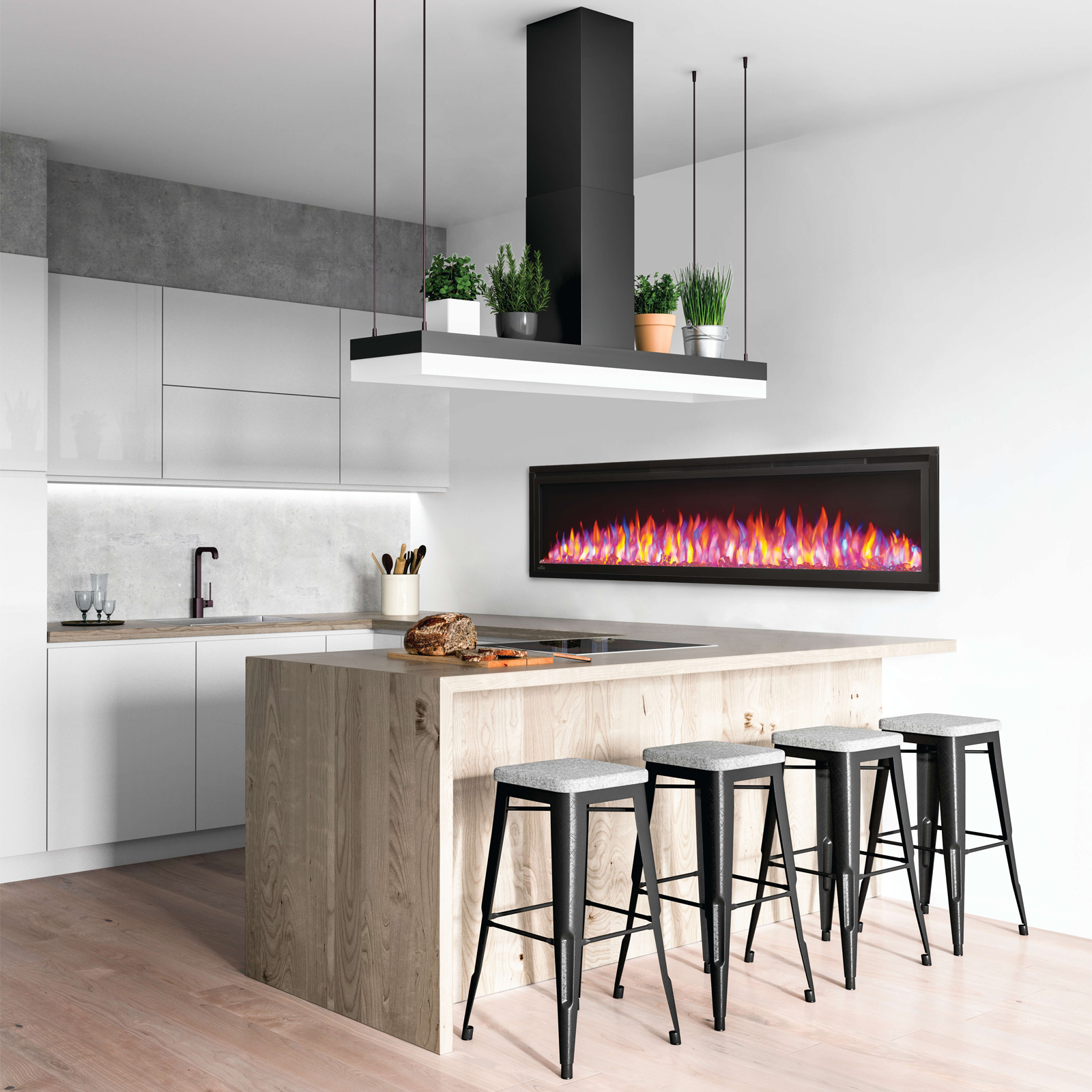 Napoleon Entice 60 Electric Fireplace Nefl60cfh In 2020