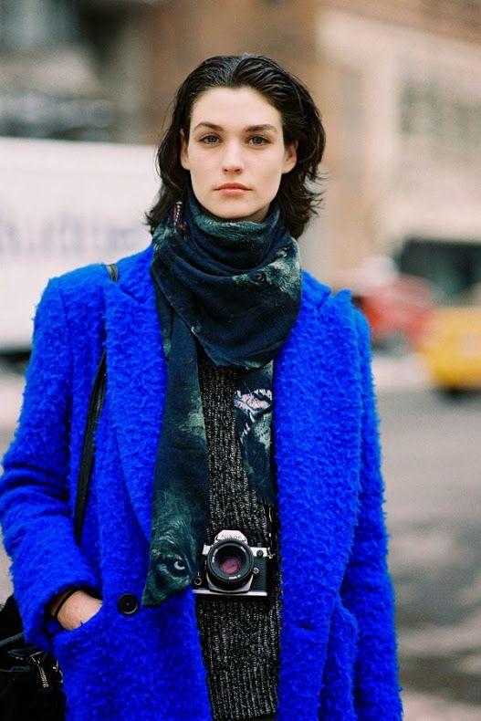 New York Fashion Week AW 2014....Manon